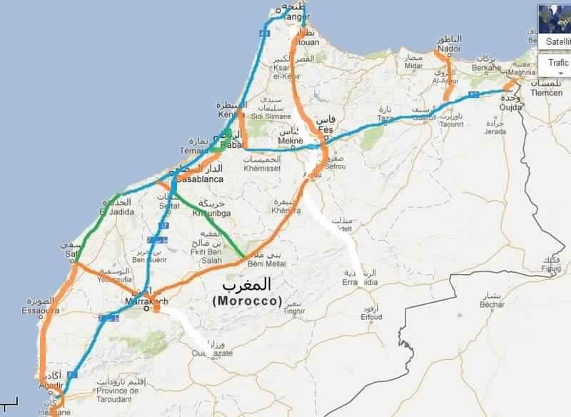 prix autoroutes maroc
