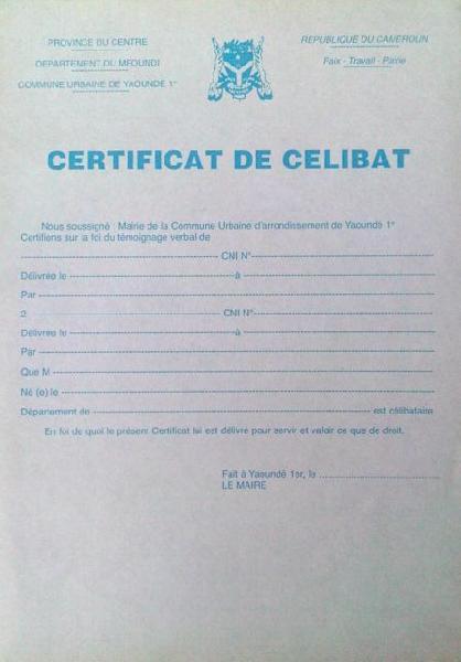 avoir-certificat-de-celibat